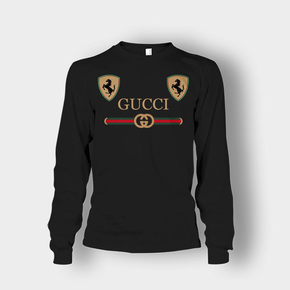 Best Gucci Ferrari New Unisex Long Sleeve