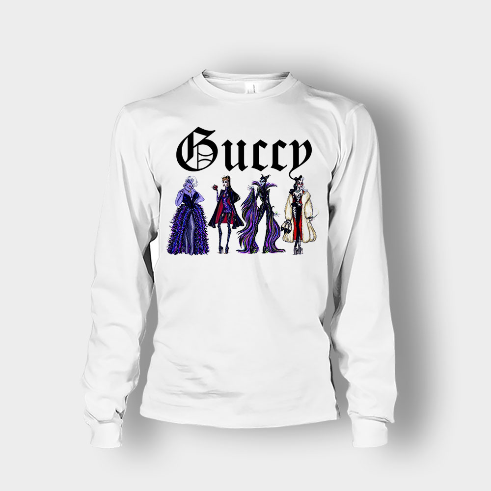 Disney Villains Gucci Gang Unisex Long Sleeve