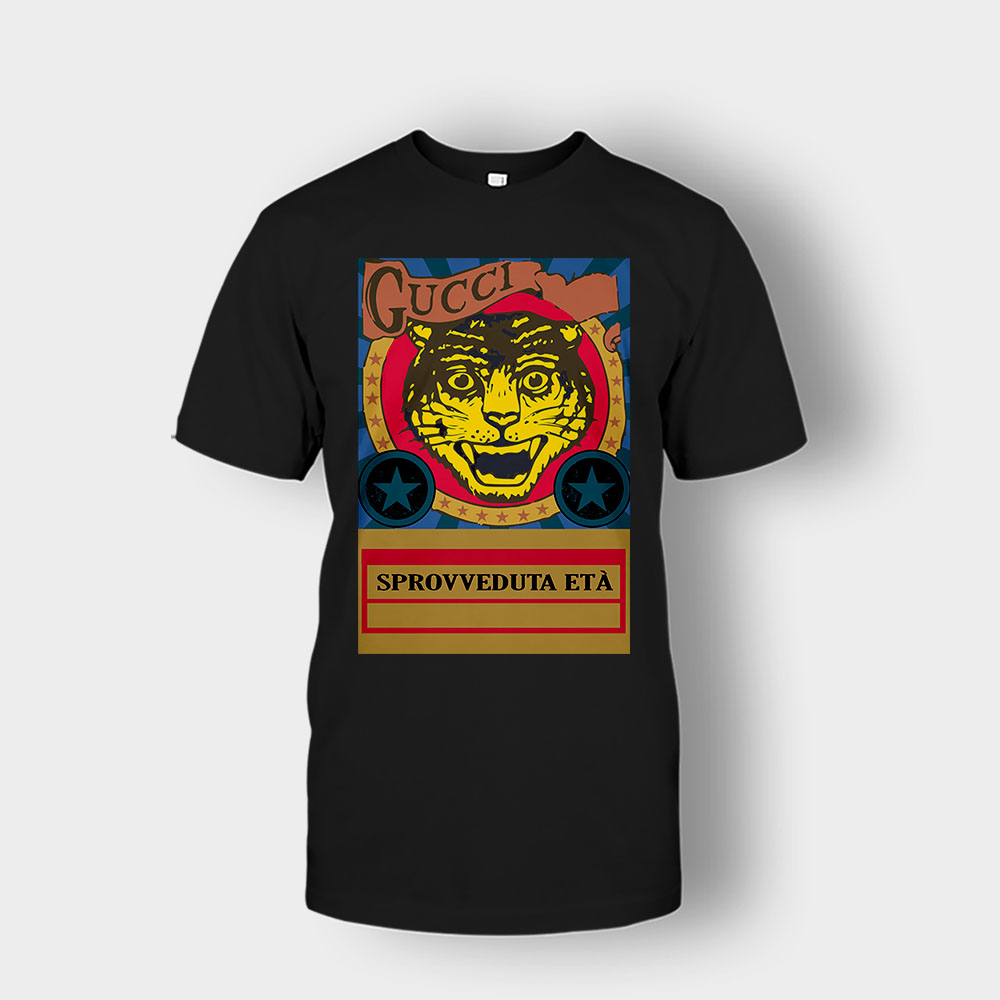 Gucci Black Lion Unisex T-Shirt