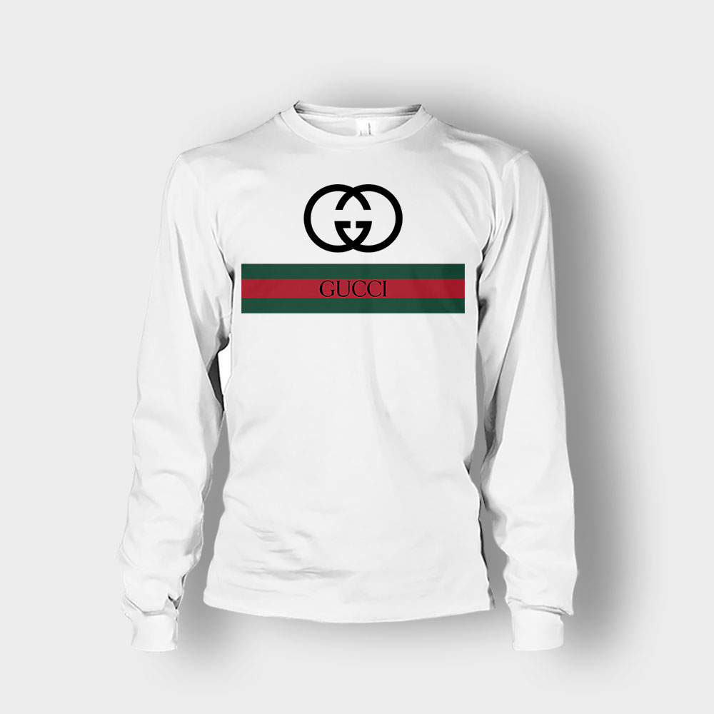 Gucci Logo Inspired Classic Unisex Long Sleeve