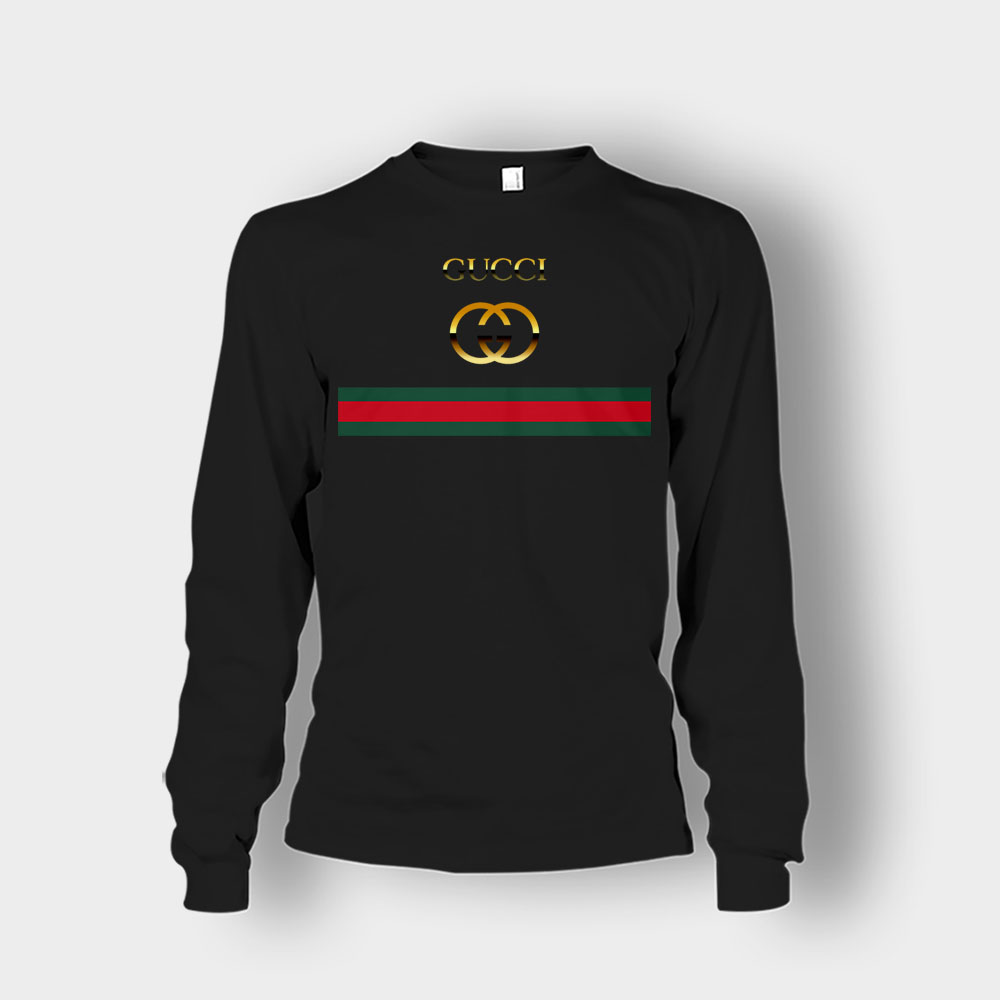 Gucci Logo Vintage Unisex Long Sleeve