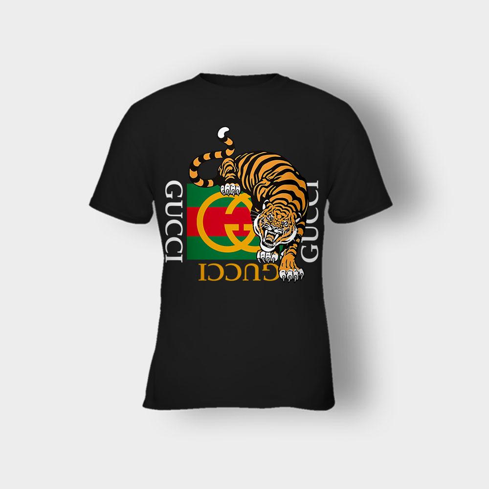 Gucci Tiger Gang Kawaii Champion Kids T-Shirt