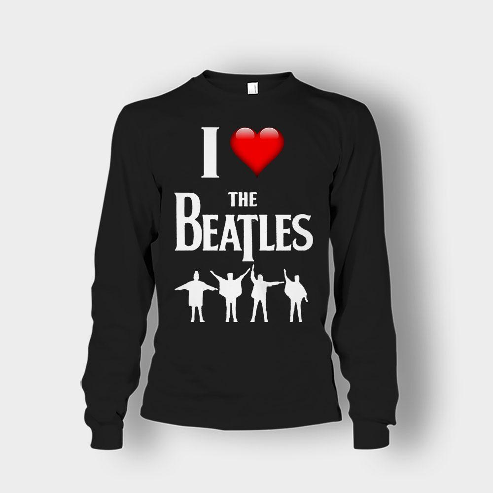 I love the Beatles Unisex Long Sleeve