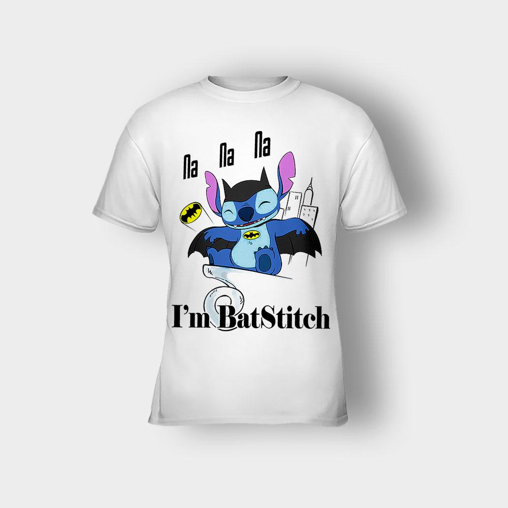 I'm Batstitch Disney Lilo And Stitch Kids T-Shirt