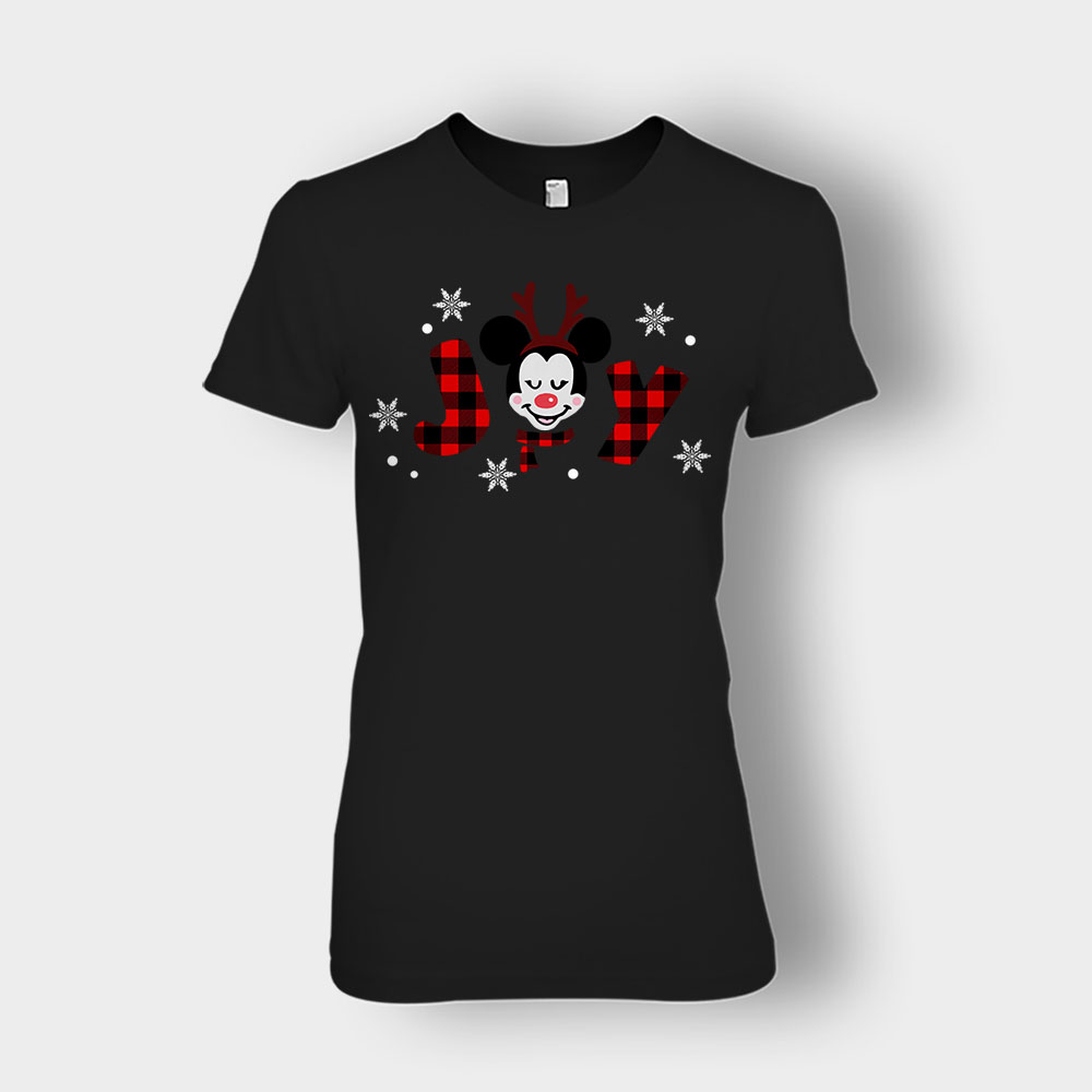 Magical Christmas Mouse Disney Inspired Ladies T-Shirt