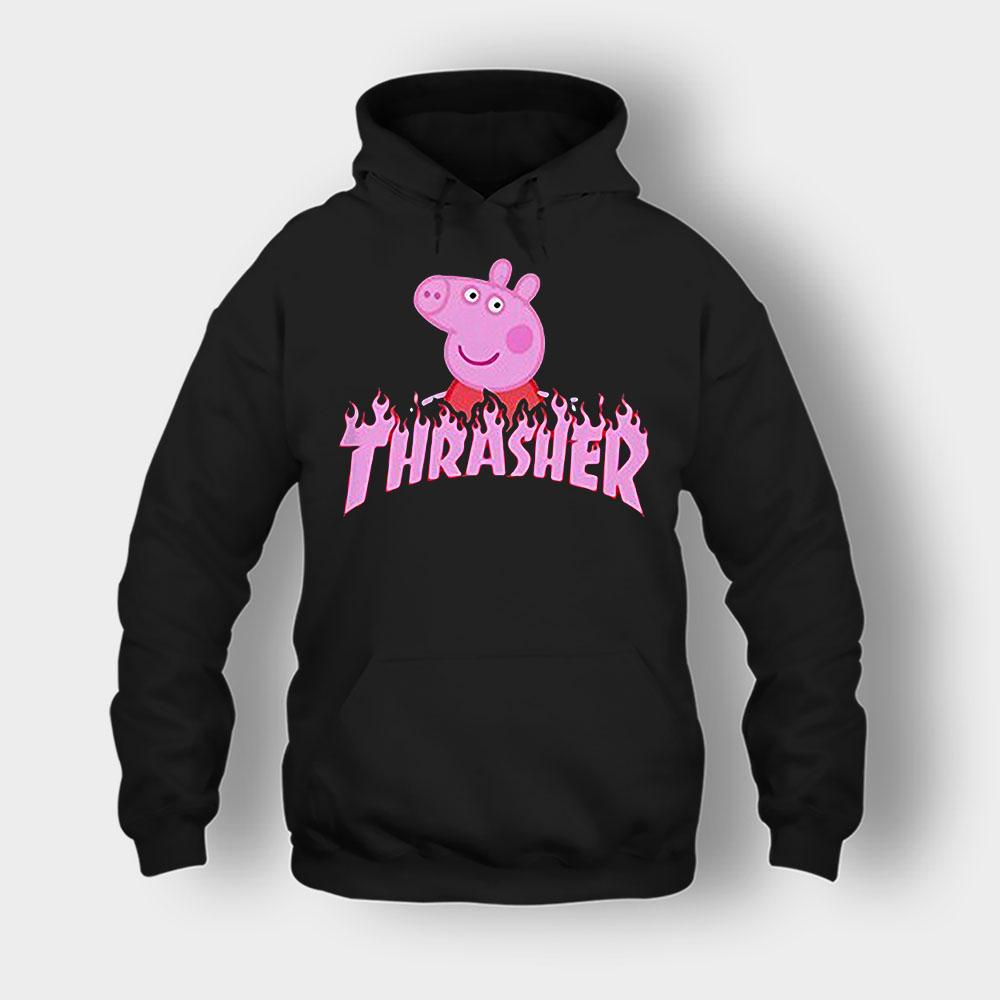 Peppa Pig thrasher Unisex Hoodie