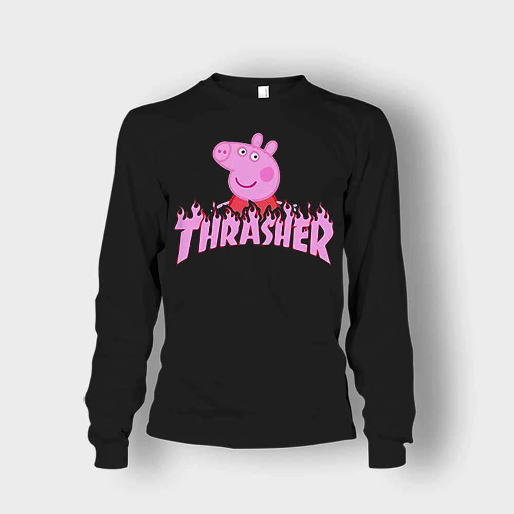 Peppa Pig thrasher Unisex Long Sleeve