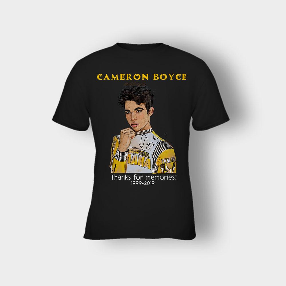 RIP Cameron Boyce thanks for memories 1999 2019 Kids T-Shirt