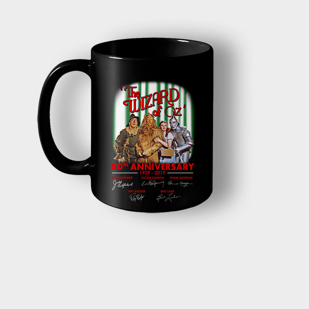 The Wizard of OZ 80th Anniversary Signatures Mug